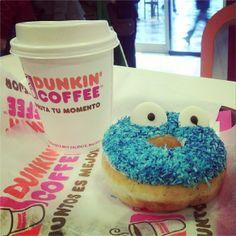 Blue Coco con café