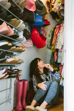 small space living: 5 tips for closets!