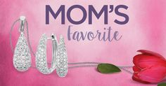 Diamonds are always Mom's favorite. With Pave, she will be thoroughly excited on May 8th!
