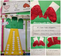 Activities for Book, The Wonderful Wizard of Oz (from Learning With Mrs. Library Activities, Classroom Activities, Classroom Crafts, School Themes, Classroom Themes, School Ideas, Kansas Day, Teacher Forms, Festa Party