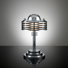 Art Decó Streamline Machine Age Lamp