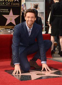 Hugh Jackman gets his Hollywood Walk of Fame Star!