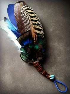 Custom made- Prayer Fan/Feather Fan- from Sacred Land Sage