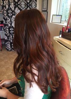 Hair color red brown highlights dark auburn 54 new Ideas Red Hair dark red brown hair Dark Red Hair With Brown, Brown Auburn Hair, Red Brown Hair Color, Hair Color Auburn, Brown Hair With Highlights, Dark Hair, Color Red, Color Highlights, Brown Brown