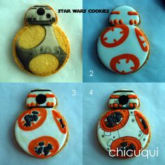 star wars cookies galletas decoradas chicuqui.com                                                                                                                                                     Más
