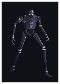 Star Wars Rogue One character illustrations for Complex Media and Disney