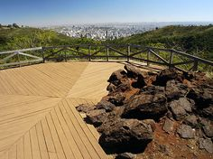 Um dos melhores mirantes de Belo Horizonte fica no Parque das Mangabeiras