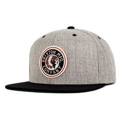 Brixton  Rival  Snapback Cap ( 28) ❤ liked on Polyvore featuring men s  fashion 50da5e35eec6