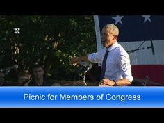 President Obama Hosts Members of Congress at Annual Picnic