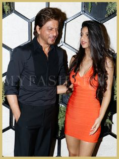 Shah Rukh Khan with daughter Suhana Khan, Arth lounge launch, MyFashgram
