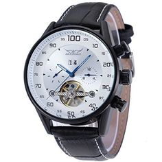 Forsining Top Brand Automatic Selfwind Men Watch with Genuine Leather Strap -- Details can be found by clicking on the image.Note:It is affiliate link to Amazon.