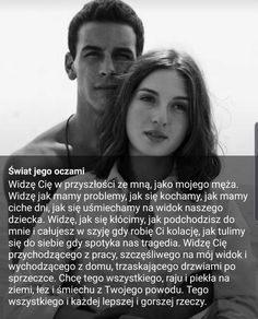 Mój kochany M. ❤ tak właśnie będzie ❤ Colleges For Psychology, Motto, Life Quotes, Poetry, Love, Maine, Pictures, Quotes, Poster