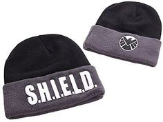 #Marvel agents of s.h.i.e.l.d. #emblem and logo #beanie,  View more on the LINK: http://www.zeppy.io/product/gb/2/172127067780/