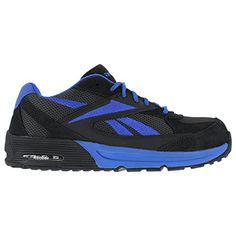 low priced 52b5f 40b17 Amazon.com   Reebok Men s Beviad Jogger Work Shoes Composition Toe Blue 6.5  D(M) US   Boots
