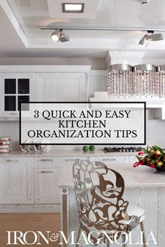 If the thought of kitchen organization just makes you want to curl up with a bottle of Pinot Noir and hide your wallet from yourself, I've got news for you. Kitchen organization does NOT have to be painful or expensive. Even better… I'll give you 3 quick and easy tips you could complete in an afternoon (and still enjoy that Pinot Noir while shoe shopping online with all the money you'll save)!