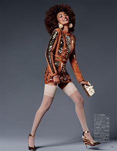 Vogue Japan June 2016 Anais Mali by Giampaolo Sgura