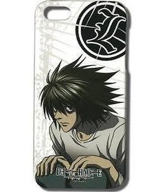 DEATH NOTE L AND LOGO IPHONE 5 PHONE CASE – The Butter Moose Shop Inc.