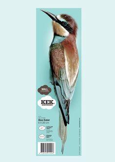 Birds Wall Sticker from KEK Amsterdam.