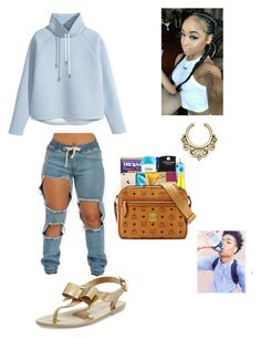 """""""Venus_Lynn"""" by queen-miy ❤ liked on Polyvore featuring H&M and MICHAEL Michael Kors"""