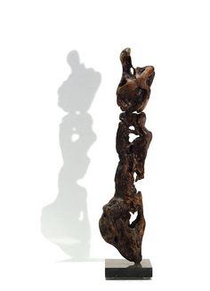 Maternity Small Driftwood Sculpture Minimalist Decorative Art