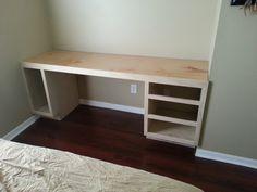 hand-made desk.