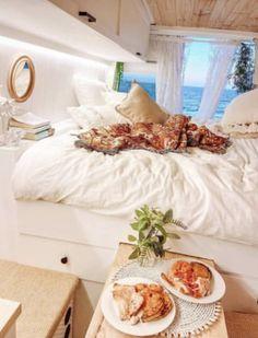 Van Living, Bed, Home, Stream Bed, Van Life, Ad Home, Homes, Beds, Haus