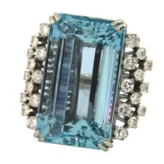 1stdibs - Amazing Aquamarine Ring explore items from 1,700  global dealers at 1stdibs.com