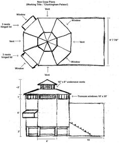 Plans for an octagon shed but I'm going to turn it into a