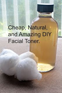 How To Make A Cheap, Natural, and Effective Facial Toner