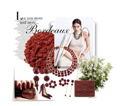 """""""I love you more and more ...bordeaux"""" by qiao-chu on Polyvore"""