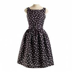 Classic Black & White Polka Dot Dress   Rachel Riley