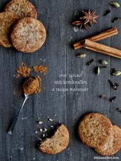 Chai Spiced Snickerdoodles - a healthy makeover
