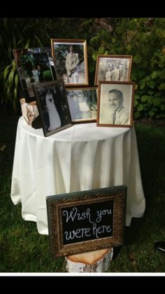 Good way to include loved ones at a wedding