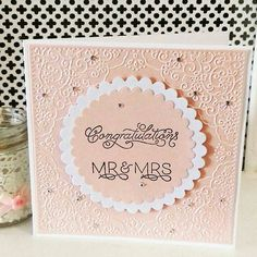 Your place to buy and sell all things handmade Handmade Wedding Gifts, Handmade Gifts, Handmade Card Making, Handmade Cards, Wedding Stationery, Wedding Planner, Wedding Day Cards, Wedding Letters, Do It Yourself Wedding