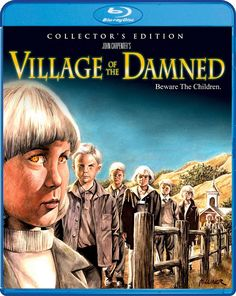 VILLAGE OF THE DAMNED COLLECTOR'S EDITION SCREAM FACTORY BLU-RAY