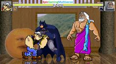 Zeus The God Of Thunder And Batman VS Popeye & Annoying Orange In A MUGEN Match / Battle / Fight This video showcases Gameplay of The Annoying Orange And Popeye The Sailor Man VS Zeus The God Of Thunder From Hercules The Animated Series And Batman The Superhero In A MUGEN Match / Battle / Fight