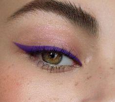Image about pretty in make up by Monica Saldaña Edgy Makeup, Makeup Eye Looks, Eye Makeup Art, Cute Makeup, Pretty Makeup, Skin Makeup, Eyeshadow Makeup, Makeup Inspo, Makeup Inspiration
