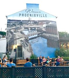Bluebird Distilling- http://www.thetowndish.com/2016/07/18/phoenixvilles-best-outdoor-spaces-dining-drinking/