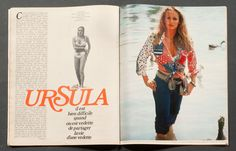 'PARIS-MATCH' FRENCH MAGAZINE URSULA ANDRESS COVER 28 OCTOBER 1972 | eBay