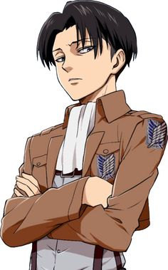 Levi you know everyone makes him look different in the fanart but I still adore the original!!!!kyaaaa!!!