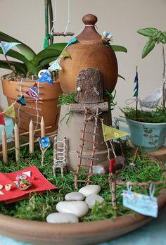 Create an Indoor Fairy Garden! >> http://www.hgtvgardens.com/crafts/make-an-indoor-fairy-garden?soc=pinterest