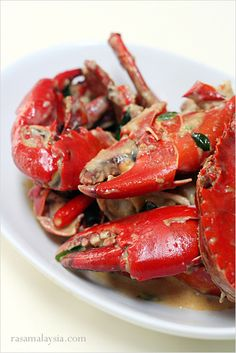Butter Crab recipe - would be great on the grill!