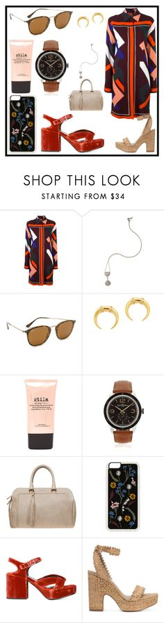 """""""Fashion for World"""" by denisee-denisee ❤ liked on Polyvore featuring Emilio Pucci, SUSAN FOSTER, Ray-Ban, Gorjana, Stila, Bell & Ross, Missoni, Zero Gravity, Jil Sander and Tabitha Simmons"""