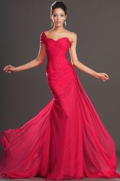 eDressit 2013 Neu Artikel Elegant Rot Ein Schulter Abendkleid (00132102)