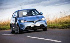 Download wallpapers MG 3, 4k, 2018 cars, compact cars, road, MG