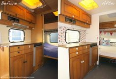 Latest Pic Vintage Caravans drawing Ideas Is your caravan just about all substance, not any design? And here is a very good reason so that you can improve your i holzdecke Boler Trailer For Sale, Trailers For Sale, Caravan Renovation Before And After, Fendt Caravan, Camper Kitchen, Travel Trailer Remodel, Vintage Caravans, Kitchen Models, Diy Camper