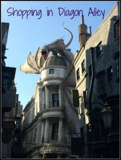 Shopping in Diagon Alley at Universal Studios Florida's Wizarding World of Harry Potter
