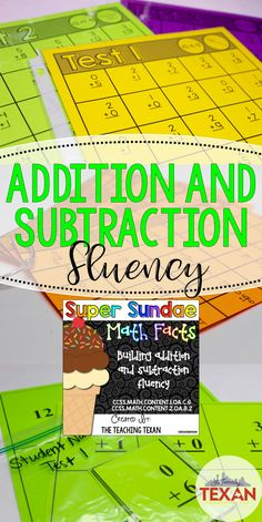 My students get so excited to practice their addition and subtraction fluency with these timed test worksheets.  These activities allow students to work towards earning a sundae ice cream party!  Perfect for First Grade or Kindergarten students needing a challenge!