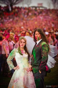 Festival of Colors, Spanish Fork, Utah  Wedding Photo Location or Venue