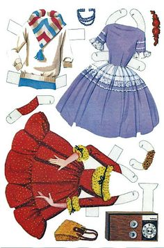 Barbie and Ken cutouts